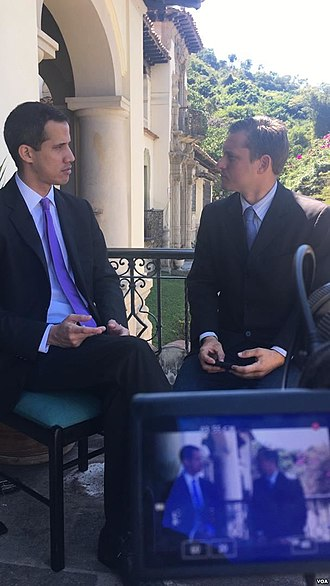 Juan Guaidó - Guaidó in a 1 February Voice of America interview