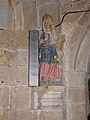 Guengat (29) Église Saint-Fiacre Statue 11.JPG