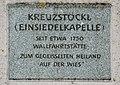 GuentherZ 2011-06-18 0020 Arbesbach Kapelle Kreuzstoeckl Tafel2.jpg