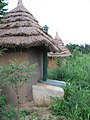 Guesthouse at the Orphan Aid village in Ayeniah, Ghana (6211341134).jpg