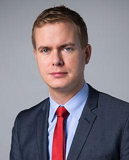 Gustav Fridolin Swedish politician