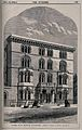 Guy's Hospital, Southwark; the facades of a row of doctors' Wellcome V0013711.jpg