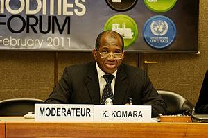 Kabiné Komara - Image: H.E. Mr. Kabine Komara, Former Prime Minister, Guinea (6139809023)