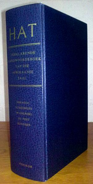 Handwoordeboek van die Afrikaanse Taal - HAT 2nd edition, 4th impression from 1984