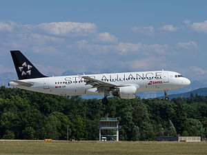 Swiss International Air Lines - A Swiss Airbus A320-214 in Star Alliance livery