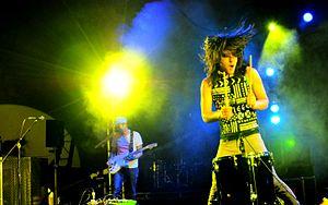 Health (band) - HEALTH performing at Becks Music Box in 2010