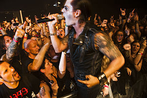 Satyricon (band) - Satyricon performing live in 2011