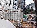 HK 中環 Central 夏慤道 Harcourt Road 和記大廈 Hutchison House construction site May 2020 SS2 02.jpg