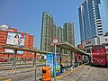 HK Hung Hom Railway Station Bus T 紅磡鐵路巴士站 KMBus 11K stop sign Mar-2013 CTCLC Royal Peninsula n The Metropolis.JPG