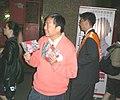HK LegCo Vote 12-02-2007 Lee Cheuk Yan Quarry Bay nite a.jpg