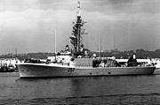 HMCS Restigouche (DDE 257) in 1992