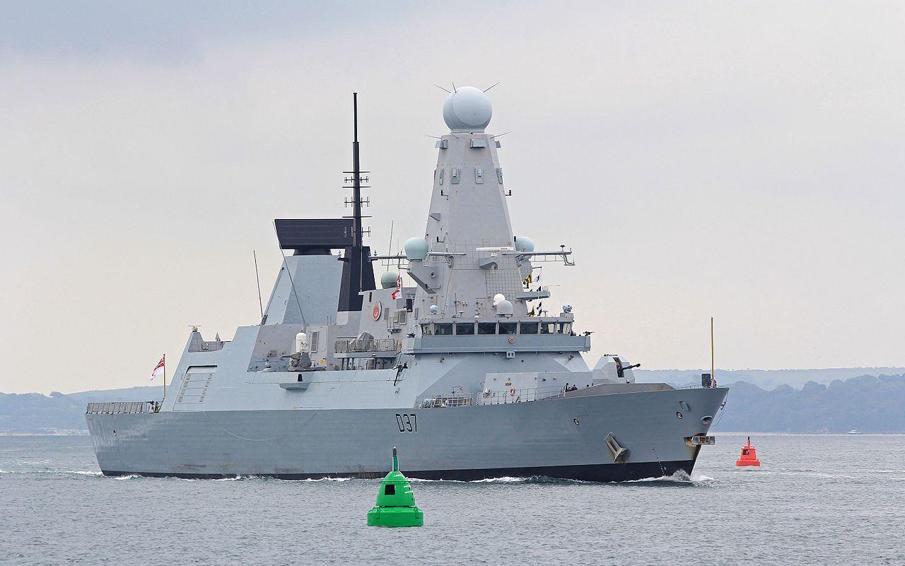 Есмінець ВМС Великої Британії Duncan увійшов у Чорне море - Цензор.НЕТ 858