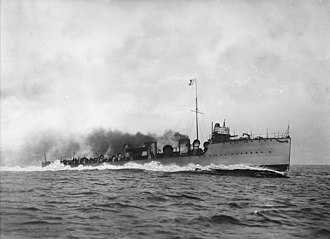 HMS Ghurka (1907) - Image: HMS Ghurka at sea (15826921482)