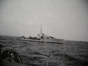 HMS Jersey (F72) - Image: HMS Jersey