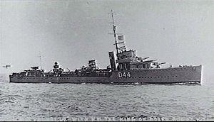 HMS Valhalla (1917) - Image: HMS Valhalla 1921 AWM P01617.004