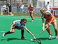 Hockey-Länderspiel 2005 Damen Argentinien - Niederlande