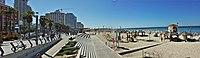 HaYarkon street and Frishman Beach Panorama.jpg