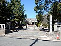 Hachiman-sha, at Onma, Mito-chō, Toyokawa, Aichi (2018-03-10) 01.jpg