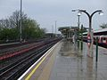 Hainault station platform 3 look north.JPG