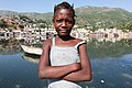 Haitian Girl by the River (8511660573).jpg