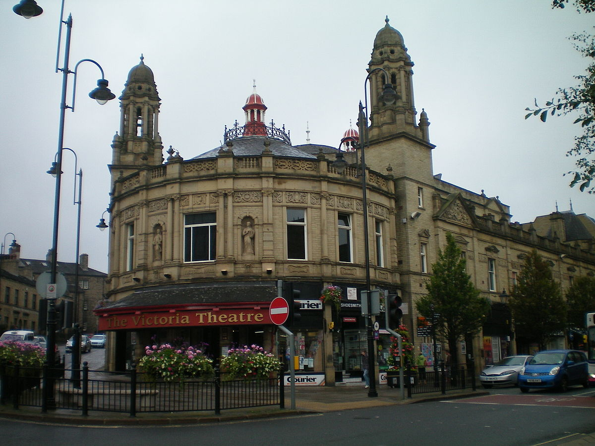Old Building In Halifax West Yorkshire
