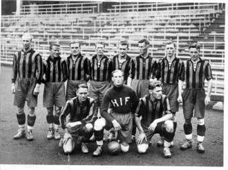 Hammarby Fotboll - The Hammarby team of 1934.