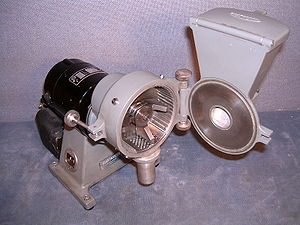 Hammermill - Desktop hammer mill used for preparing growth media in a life sciences laboratory