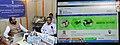 Hansraj Gangaram Ahir launching the revamped website of Department of Pharmaceuticals, in New Delhi on September 23, 2015. The Secretary, Department of Pharmaceutical, Shri V.K. Subburaj is also seen.jpg