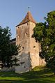 Harburg in Schwaben, Burg Harburg, Wasserturm, 001.jpg