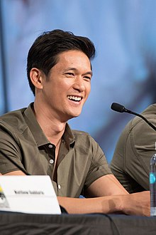 Harry Shum Jr. podczas San Diego ComicCon 2017.jpg