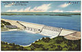 Hartwell Dam and Reservoir near Hartwell, Ga. and Anderson, S. C., on Savannah River (Ga.-S. C. state line) (8368118488).jpg