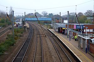 Hatfield railway station - Image: Hatfield railway station