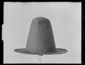 Hatt av svart filt - Livrustkammaren - 79200.tif