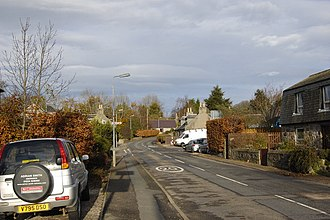 Hatton of Fintray - Image: Hatton of Fintray village centre geograph.org.uk 1582592
