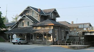 Haverford, Pennsylvania - Haverford rail station