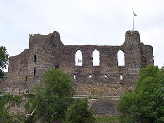 Grade I listed castle in Haverfordwest, United Kingdom