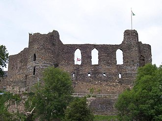 Haverfordwest - Haverfordwest Castle