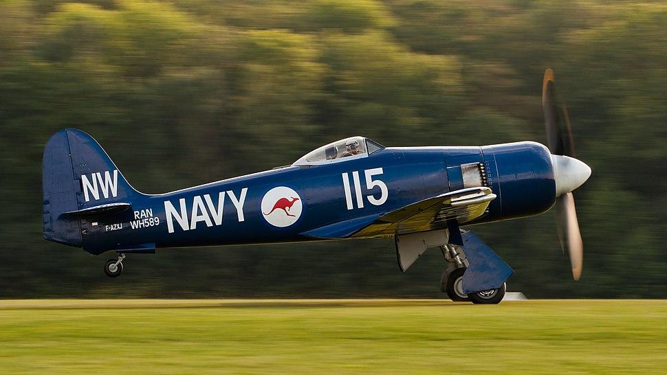 Hawker Sea Fury FB 10 F-AZXJ OTT 2013 10
