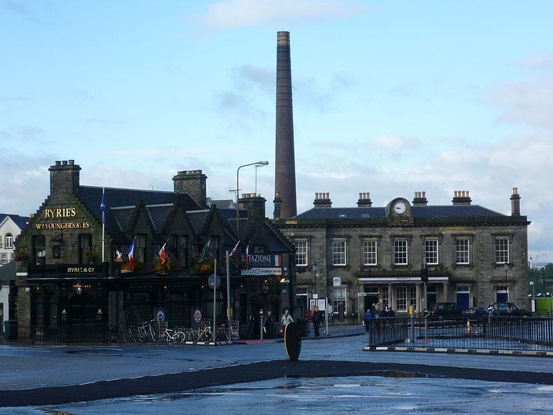 800px Haymarket junction%2C Edinburgh