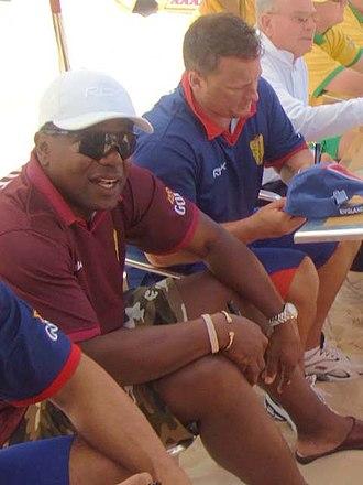 Desmond Haynes - Desmond Haynes (left), 2007