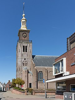 Hazerswoude-Dorp Village in South Holland, Netherlands