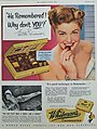 He Remembered! - Esther Williams - Whitman's Chocolates, 1951.jpg
