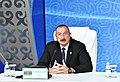 Heads of State of Caspian littoral states made press statements at Aktau Summit 1.jpg