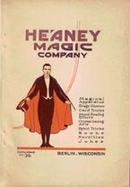 Heaney Magic Company, Catalogue No. 25 (1924)