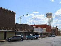 Hearne TX - downtown with water tower.jpg