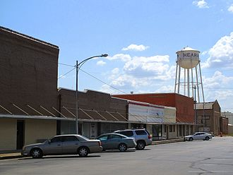Hearne, Texas - Downtown Hearne