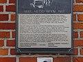 Hedd Wyn Plaque Welsh Memorial Park Ieper (Ypres) Parc Coffa'r Cymry, Gwlad Belg 25.jpg