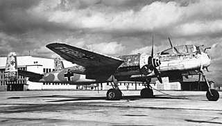 Heinkel He 219 German night fighter of World War II