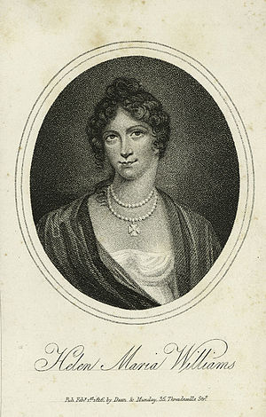 Helen Maria Williams - Helen Maria Williams, 1816