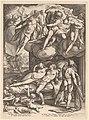 Hendrik Goltzius, Mars and Venus Surprised by Vulcan, 1585, NGA 154306.jpg